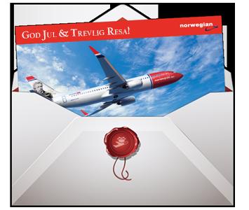 Betala med presentkort norwegian