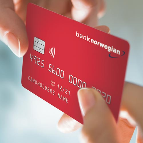 Bank Norwegian kort