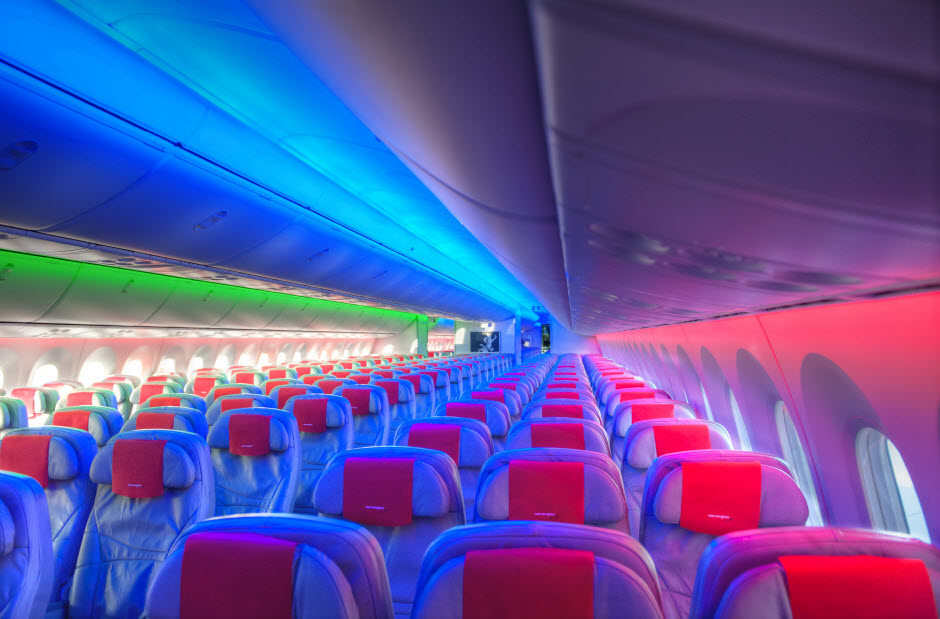 Norwegian Dreamliner Sky Interior