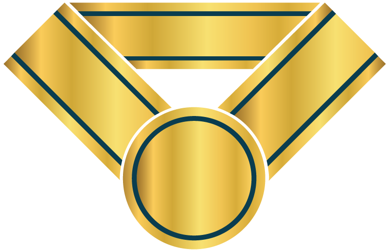A golden medal representing Limited Edition Reward icon